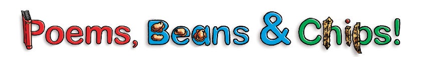 Poems, Beans & Chips logo
